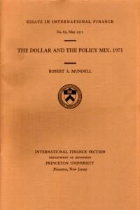 The Dollar and the Policy Mix